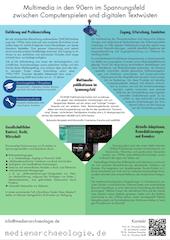 Poster des Projekts für die DHd-Tagung Passau 2014